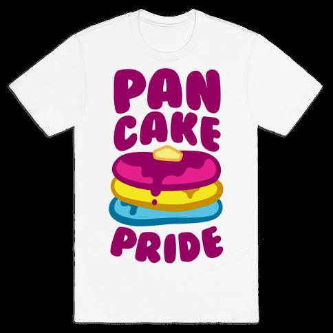 Pan Cake Pride Mens T-Shirt