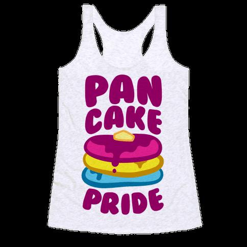 Pan Cake Pride Racerback Tank Top