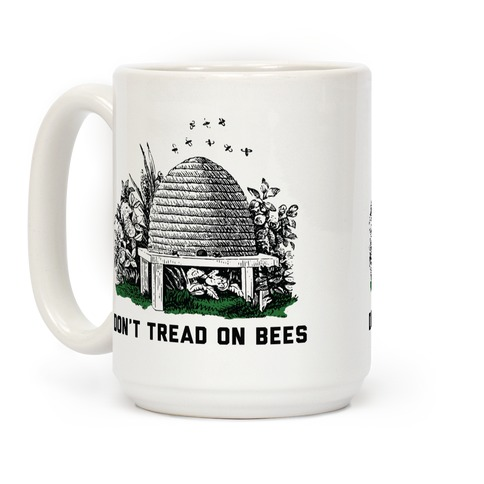 Don't Tread on Bees Coffee Mug