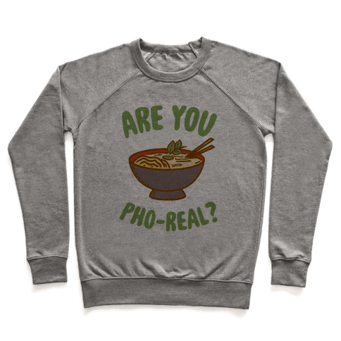 Are You Pho-Real? Pullover