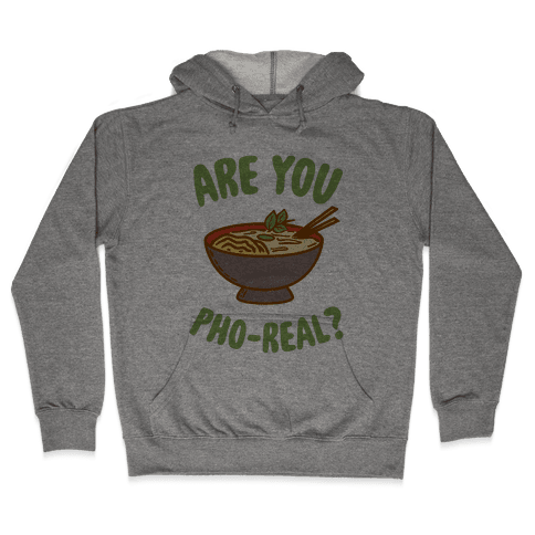 Are You Pho-Real? Hooded Sweatshirt