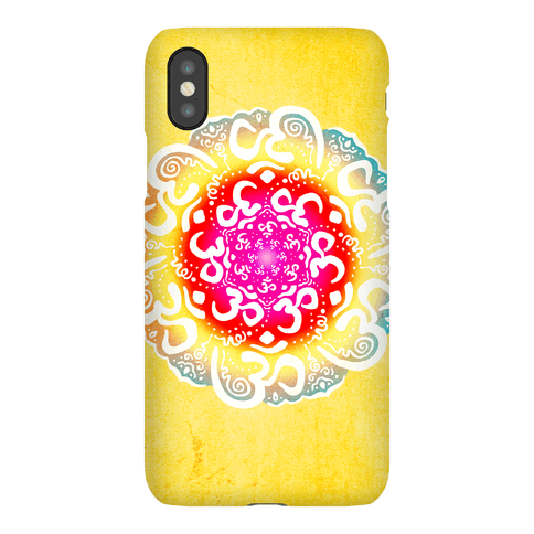 Namaste Mandala Phone Case