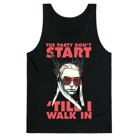 Thranduil Elvish Lord of the Party Tank Top