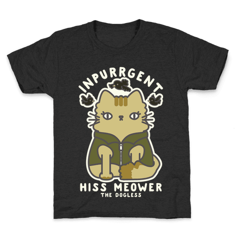 Inpurrrgent Cute Cat Kids T-Shirt