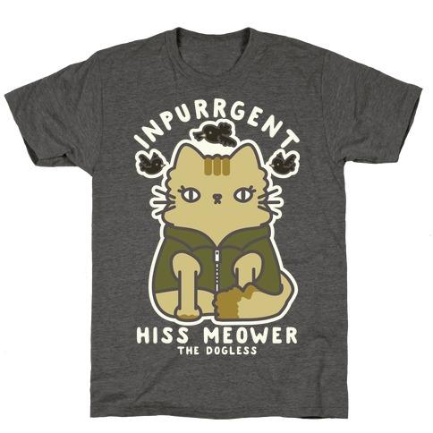 Inpurrrgent Cute Cat T-Shirt