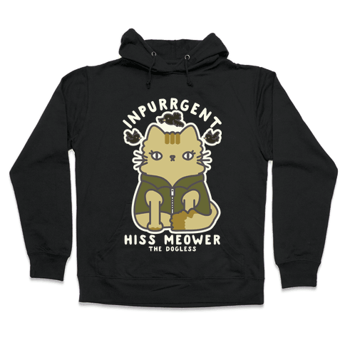 Inpurrrgent Cute Cat Hooded Sweatshirt