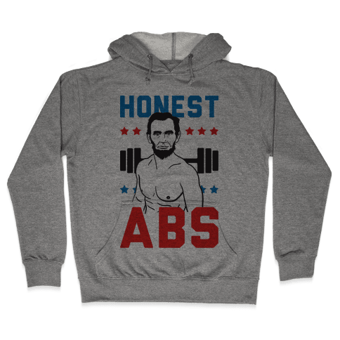 Honest Abs Hooded Sweatshirt