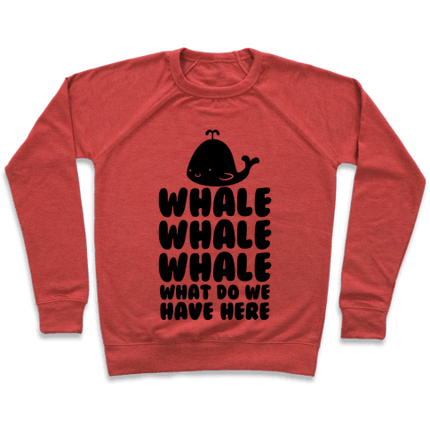 Whale Whale Whale Pullover