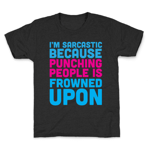 I'm Sarcastic Kids T-Shirt