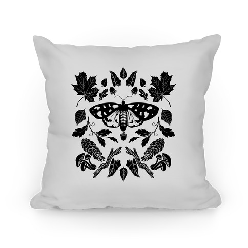 Woodland Moth Pillow
