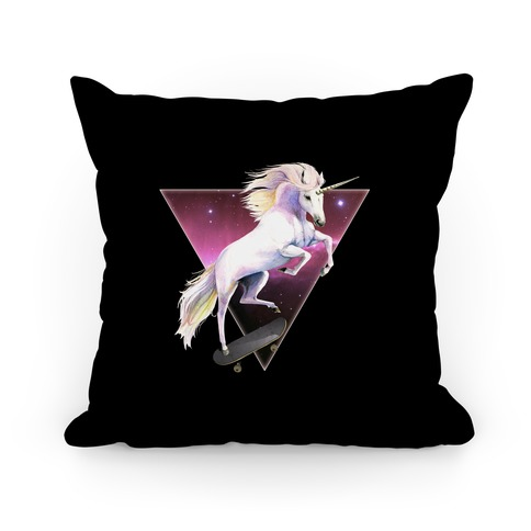 Rad North Unicorn Nebula Pillow