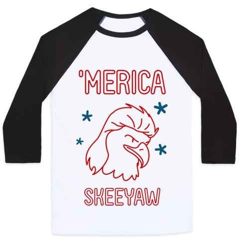 'Merican Eagle Baseball Tee
