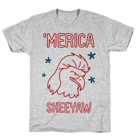 'Merican Eagle Mens T-Shirt