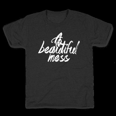 A Beautiful Mess Kids T-Shirt