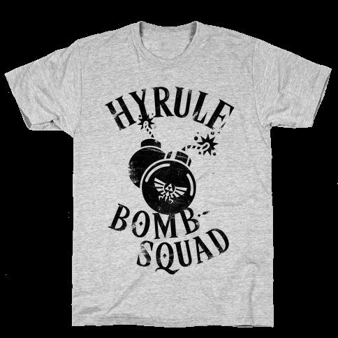 Hyrule Bomb Squad Mens/Unisex T-Shirt