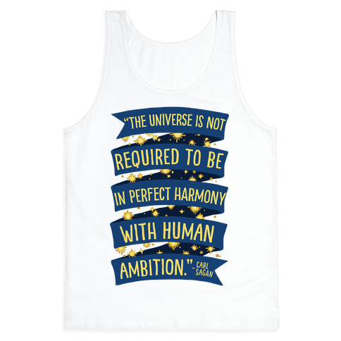The Universe Is Not Required To Be In Harmony With Human Ambition