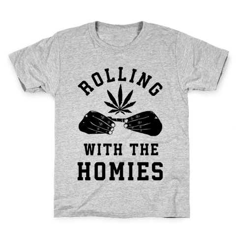 Rolling with the Homies Kids T-Shirt