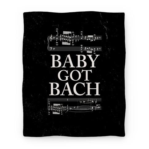 Baby Got Bach Blanket