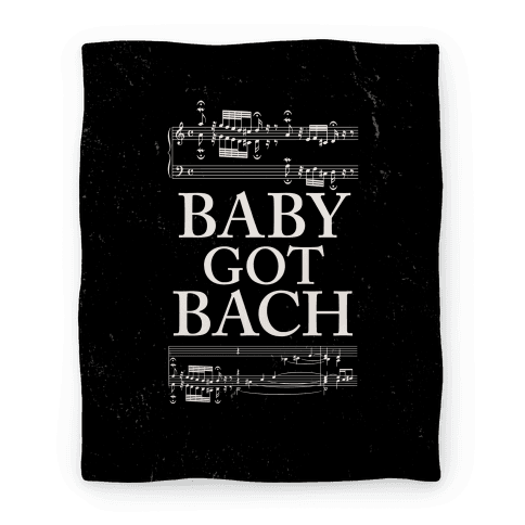 Baby Got Bach Blanket