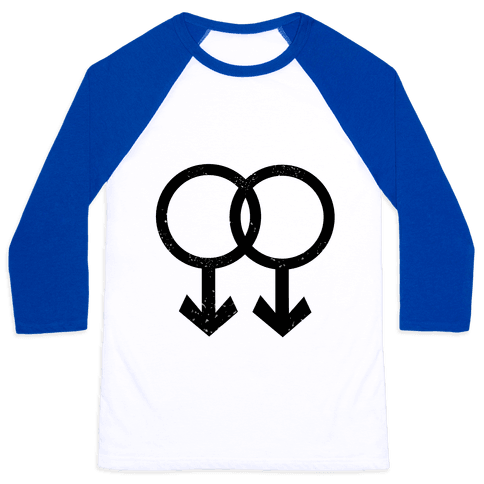 Gay Pride Baseball Tee