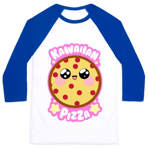 Kawaiian Pizza Baseball Tee