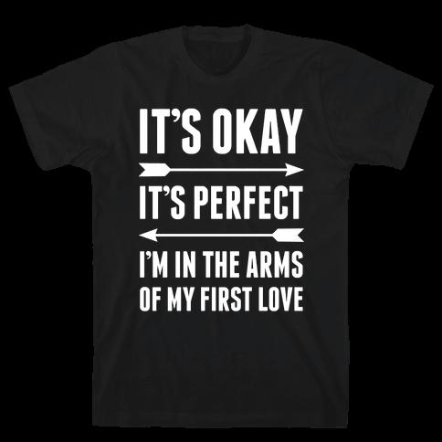 It's Okay, It's Perfect Mens T-Shirt