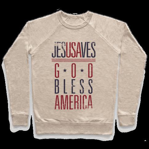 JESUSAVES Pullover