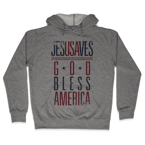 JESUSAVES Hooded Sweatshirt