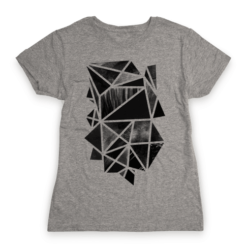 Geometric Collage Womens T-Shirt