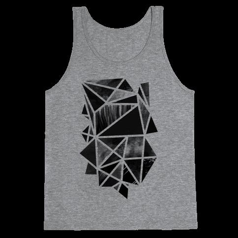 Geometric Collage Tank Top