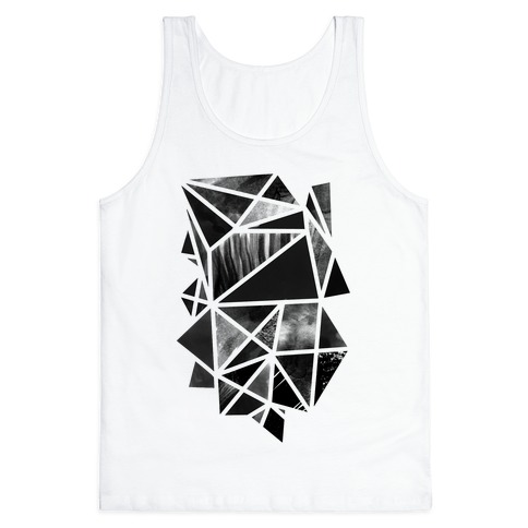 Geometric Collage Tank Top