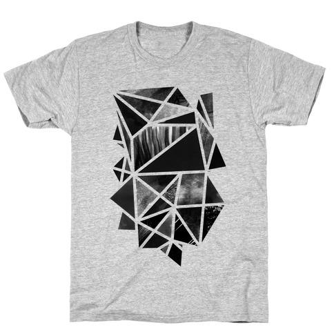 Geometric Collage T-Shirt