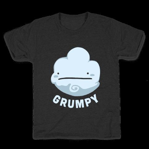 Sun & Grumpy Cloud (Part 1) Kids T-Shirt