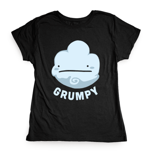 Sun & Grumpy Cloud (Part 1) Womens T-Shirt