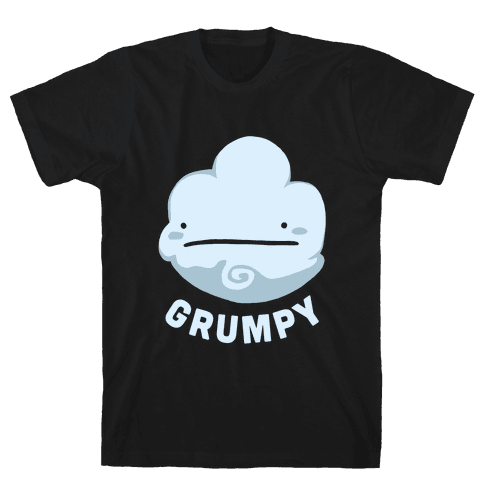 Sun & Grumpy Cloud (Part 1) Mens T-Shirt