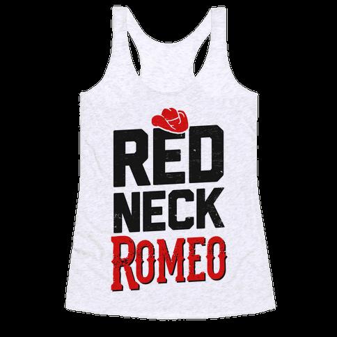 Her Redneck Romeo Racerback Tank Top