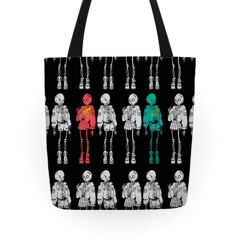 Skeleton Girls Tote