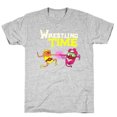 Wrestling Time T-Shirt
