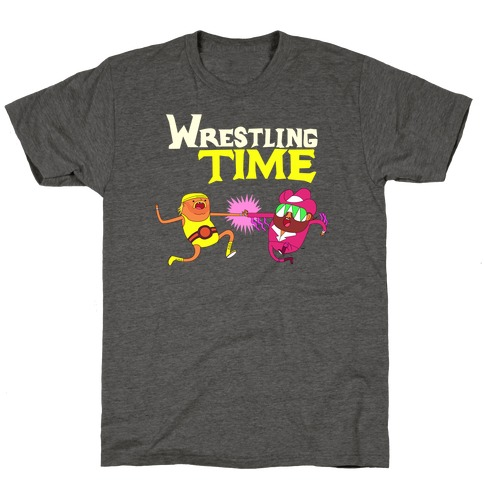 Wrestling Time T-Shirt