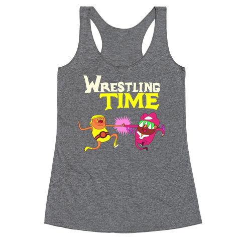 Wrestling Time Racerback Tank Top