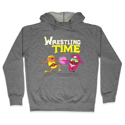 Wrestling Time Hooded Sweatshirt