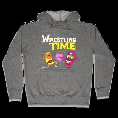 Wrestling Time Hooded Sweatshirt