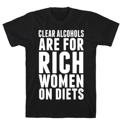 Clear Alcohol T-Shirt