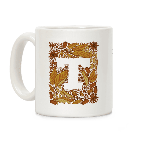 The Letter Tea Coffee Mug