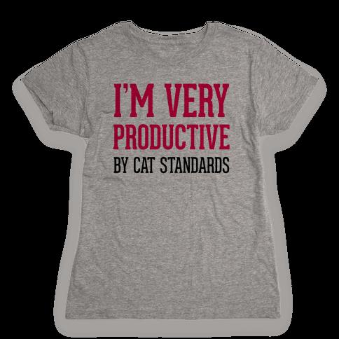 I'm Very Productive Womens T-Shirt