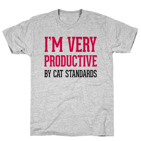 I'm Very Productive Mens T-Shirt