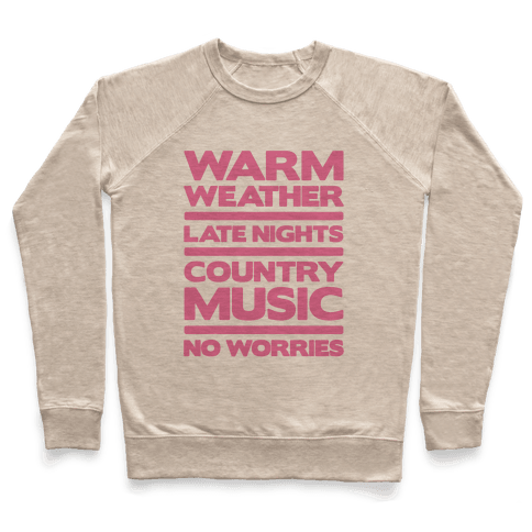Warm Weather No Worries Pullover
