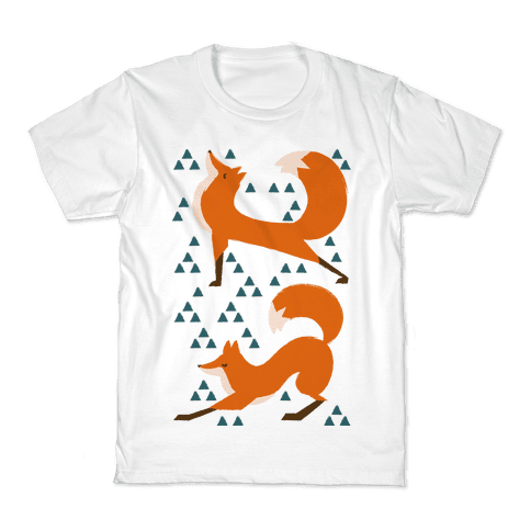 Fox Yoga Kids T-Shirt