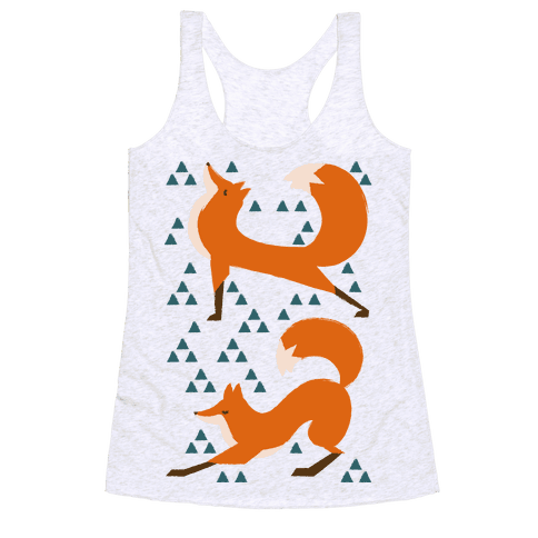 Fox Yoga Racerback Tank Top