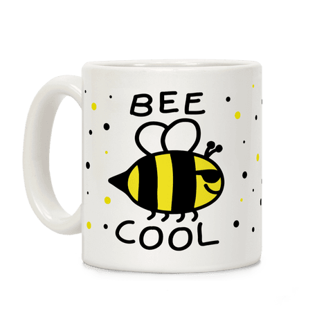 Bee Cool Coffee Mug